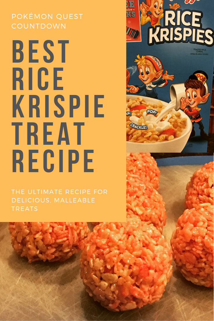The Best Rice Krispie Treat Recipe