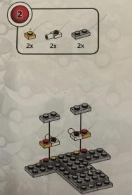 MegaConstux Pikachu Building Instructions