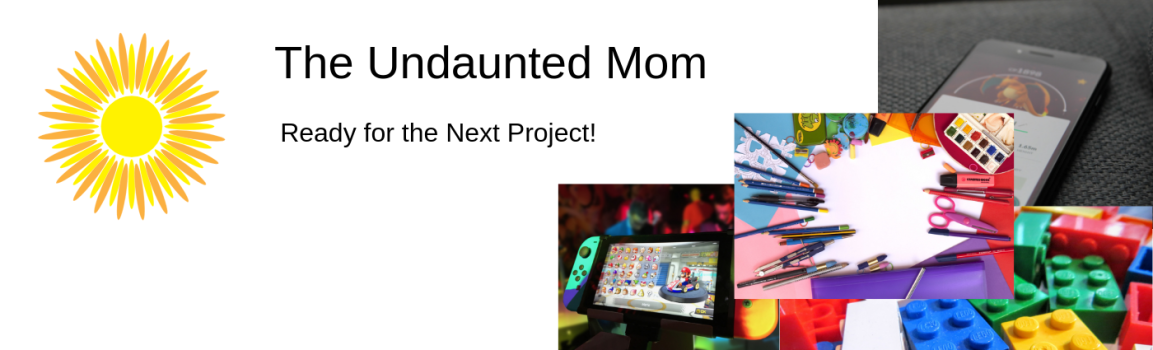Undaunted Mom Long Logo